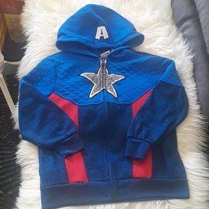 Captain America Hoodies Boys 7